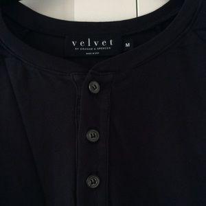 Velvet by Graham & Spencer Men's Henley T-shirt M